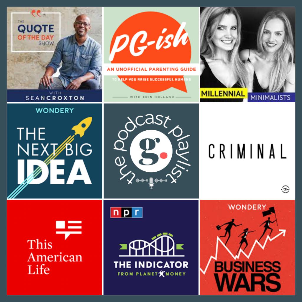 Podcast Playlist 5-19-21