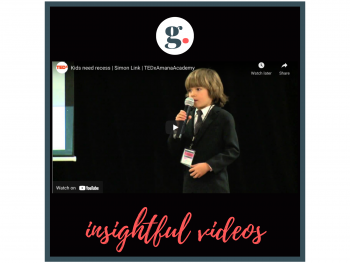 Insightful Videos - Kids need recess